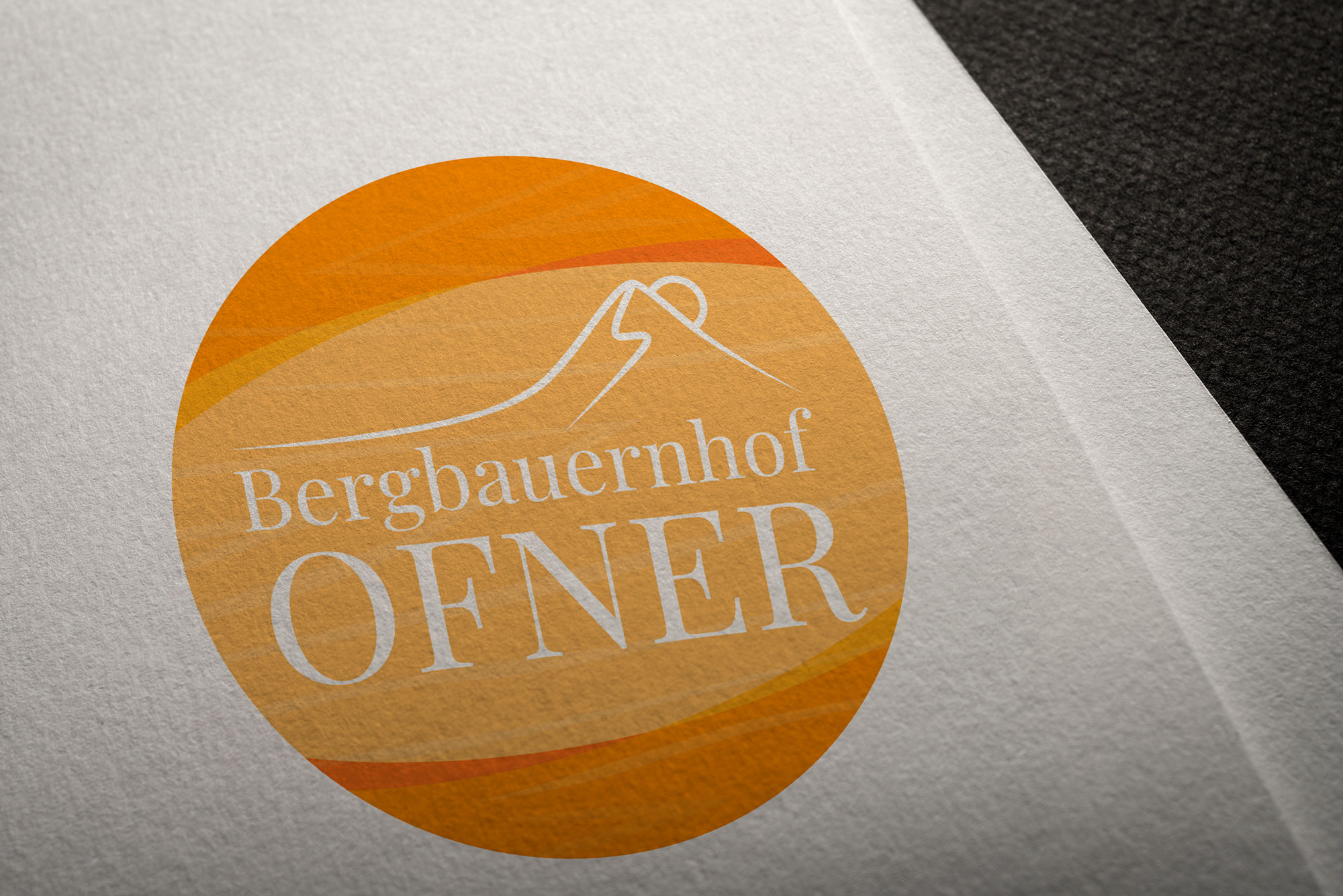 Logo Design Bergbauernhof Ofner