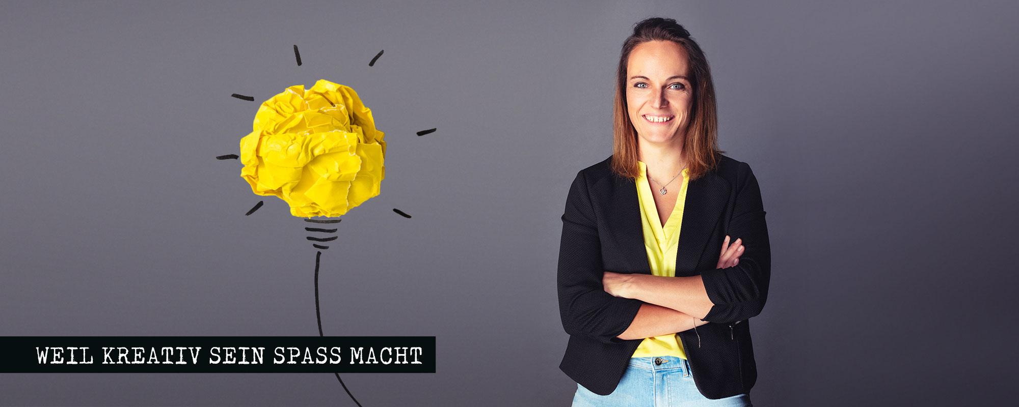 Anja Moser - Weil kreativ sein Spaß macht - Das Kreativbüro