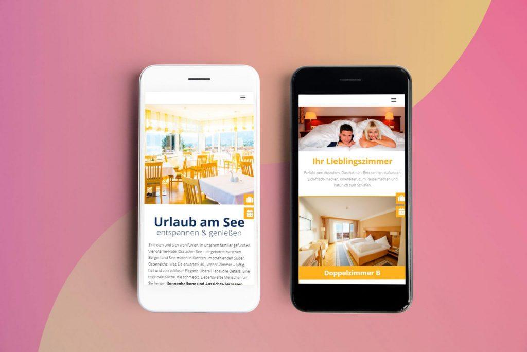 Responsive Webdesign | Hotel Ossiacher See