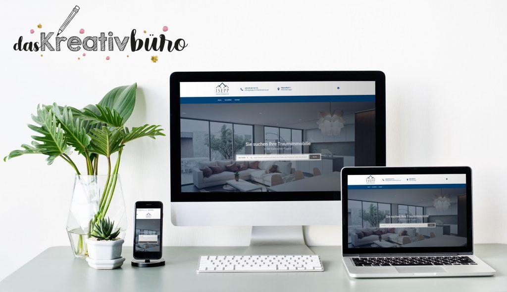 Webdesign Isepp Immobilienservice