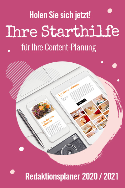 Das Kreativbüro Content-Planer