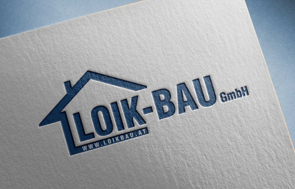 Logo Design Loik Bau GmbH