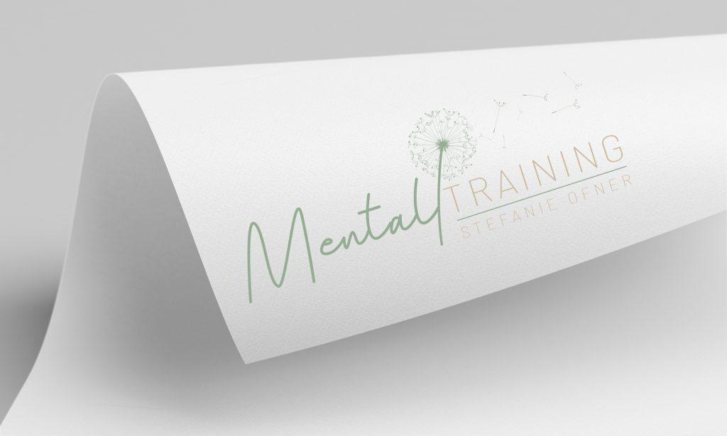 Logo Design - Mentaltraining Stefanie Ofner