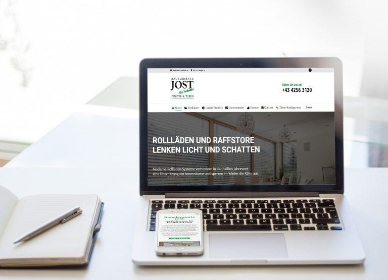 Webdesign Bauelemente Jost
