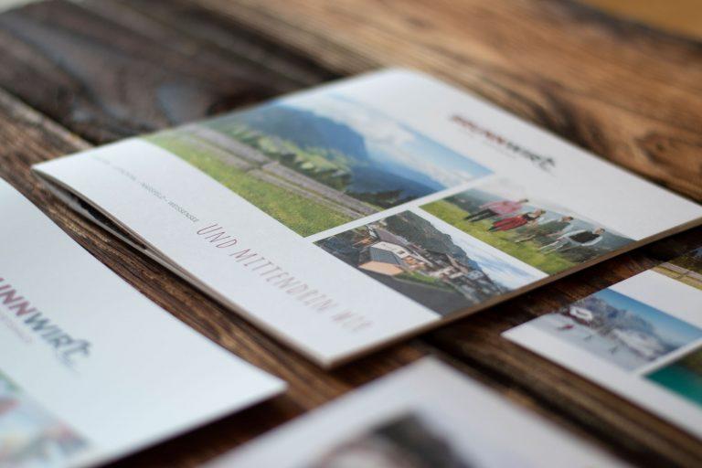 Hotel Brunnwirt Imagebroschuere